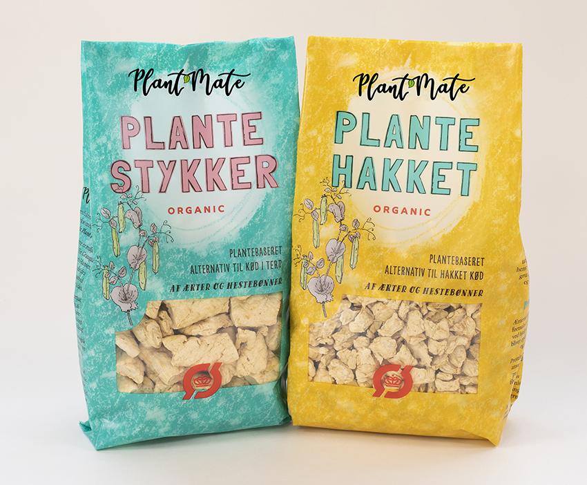 Plant mate: Organic Pea Snack