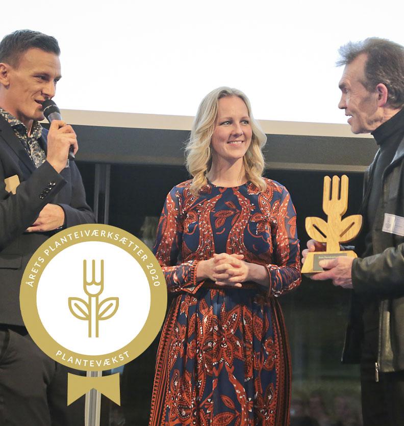 Iværksætterprisen til Organic Plant Protein